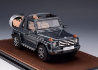 1/43 4X4 MERCEDES-BENZ MINIATURE DE COLLECTION Mercedes G 500 Cabriolet Final Edition ouvert-2013-GLM207101