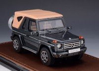 1/43 4X4 MERCEDES-BENZ MINIATURE DE COLLECTION Mercedes G 500 cabriolet Final Edition capote fermée-2013-GLM207102