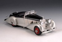 1/43 MERCEDES-BENZ VOITURE MINIATURE DE COLLECTION Mercedes 540 K Special Roadster Mayfair argent / noir-1937-GLM207502