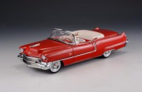 1/43 VOITURE MINIATURE DE COLLECTION Cadillac Serie 62 cabriolet rouge-1956-GLM120401