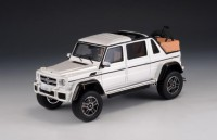 1/43 VOITURE MINIATURE DE COLLECTION 4X4 Mercedes G 650 Maybach cabriolet blanc-2017-GLM207601