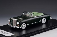 1/43 VOITURE MINIATURE DE COLLECTION CABRIOLETS Bentley S 1 Drophead coupe Graber noir-1956-GLM216001
