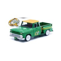 "1/18 CHEVROLET C-10 PICK-UP STYLESIDE ""QUAKER STATE"" 1965-GREENLIGHTGREEN12874"