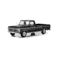 1/18 VEHICULE MINIATURE DE COLLECTION FORD F-100 TRUCK 1972 NOIR-GREENLIGHTGREEN12963
