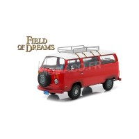"1/18 VW COMBI VOLKSWAGEN T2B BUS 1973 ""FIELD OF DREAMS (1989)""GREENLIGHTGREEN19010"