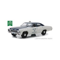"1/18 CHEVROLET BISCAYNE 1967 ""NEW YORK POLICE DEPARTMENT"" (NYPD)GREENLIGHTGREEN19054"