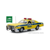 1/18 PLYMOUTH FURY 1977 PORT AUTORITY OF NEW YORK AND NEW JERSEY POLICE-GREENLIGHTGREEN19056
