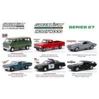 1/64 3-INCHES VÉHICULES MINIATURE DE COLLECTION COFFRET 6 SÉRIES D'HOLLYWOOD - SERIES 27-GREENLIGHT GREEN44870