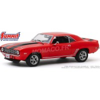 "1/43 CHEVROLET CAMARO 1969 ""SINCE 1968 SUMMIT RACING EQUIPMENT - HOME OF PERFORMANCE""GREENLIGHT GREEN86342"