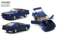 1/18 VOITURE FORD MUSTANG II KING COBRA 1978 BLEUE/ ROUGE / OR-GREENLIGHTGREEN13507