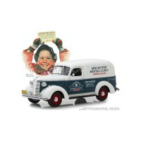 "1/24 UTILITAIRES PUBLICITAIRE CHEVROLET PANEL TRUCK 1939 ""NORMAN ROCKWELL""GREENLIGHTGREEN18249"