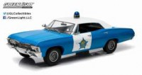 "1/18 CHEVROLET BISCAYNE ""CITY OF CHICAGO POLICE DEPARTMENT"" 1967-GREENLIGHT"