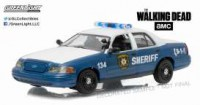 "1/43 FORD CROWN VICTORIA 2001 POLICE INTERCEPTOR ""THE WALKING DEAD (2010-2015)GREENLIGHT"