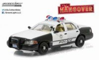 "1/43 FORD CROWN VICTORIA POLICE INTERCEPTOR 2000 ""VERY BAD TRIP (2009)""GREENLIGHT"
