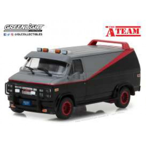 1 43 vehicule miniature gmc vandura 1983 l 39 agence tout. Black Bedroom Furniture Sets. Home Design Ideas