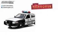 "1/18 FORD CROWN VICTORIA POLICE INTERCEPTOR 2000 ""VERY BAD TRIP (2009)"" - RADIOCOMMANDE-GREENLIGHTGREEN91003"