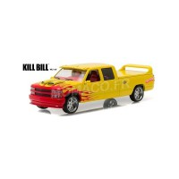 "1/43 CHEVROLET C-2500 CREW CAB SILVERADO ""PUSSY WAGON"" 1997 ""KILL BILL VOL.1 (2003)""GREENLIGHT"