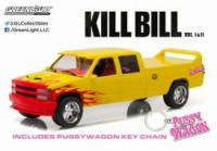 "1/18 CHEVROLET C-2500 CREW CAB SILVERADO ""PUSSY WAGON"" 1997 ""KILL BILL VOL.1 (2003)""GREENLIGHT"