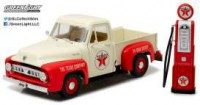 "1/18 VEHICULE FORD F-100 1953 ""TEXACO"" AVEC POMPE A ESSENCE-GREENLIGHTGREEN12991"