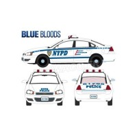 "1/43 CHEVROLET IMPALA ""NEW YORK POLICE DEPARTMENT"" (NYPD) 2010 ""BLUE BLOODS-GREENLIGHTGREEN86509"