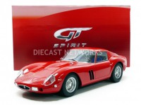 1/12 FERRARI VOITURE MINIATURE DE COLLECTION FERRARI 250 GTO - 1962-Rouge-GT SPIRITGT175