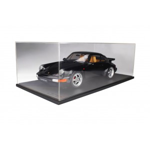 1/8 PORSCHE VOITURE MINIATURE DE COLLECTION Porsche 911 3.6 Turbo NOIR-GTSPIRITGTS80011