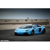 1/12 LB-WORKS VOITURE MINIATURE DE COLLECTION LB-WORKS AVENTADOR BABY BLUE-KYOSHOGTS12502BL