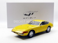 1/12 FERRARI VOITURE MINIATURE DE COLLECTION FERRARI 365 GTB/4 DAYTONA - 1968-JAUNE-GT SPIRIT ZM093