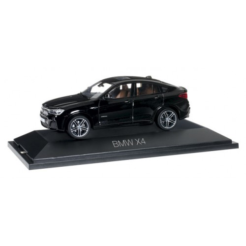 1 43 voiture miniature de collection bmw x4 noir herpa vente de voitures miniatures pour. Black Bedroom Furniture Sets. Home Design Ideas