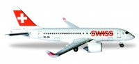 1/500 AVION MINIATURE DE COLLECTION Bombardier CS100 Swiss International Air HB-JBA 7cm-HERPAHER530736