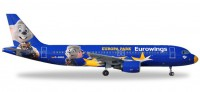 1/500 AVION MINIATURE DE COLLECTION Airbus A320 Eurowings Europa-Park D-ABDQ 7.5cm-HERPAHER530767