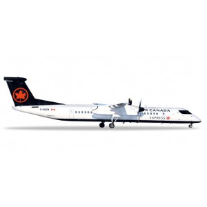 1/200 AVION BOMBARDIER MINIATURE DE COLLECTION Bombardier Q400 Air Canada C-GGOY 16.4cm-HERPAHER559225