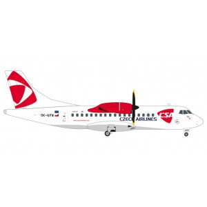 1/200 ATR42-500 AVION MINIATURE DE COLLECTION ATR 42-500 CSA Czech Airlines OK-KFN Lizina 11.3cm-HERPAHER559256