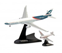 1/400 AVION MINIATURE DE COLLECTION Airbus A330-300 Niki + Douglas DC-3 Cathay Pacific Airways-HERPAHER562089