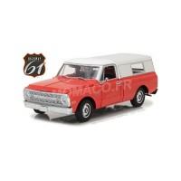 "1/18 CHEVROLET C-10 PICK-UP AVEC POMPE A ESSENCE ""SHELL OIL""HIGHWAY-18004"