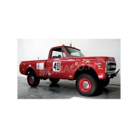 "1/18 CHEVROLET C-10 PICK-UP 40 BAJA 1000 TRUCK 1969 ""STEVE MC QUEEN (1930-1980)""HIGHWAY-18007"