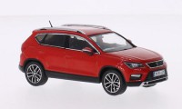 1/43 VOITURE MINIATURE DE COLLECTION Seat Ateca rouge-2016-IXO PREMIUM-X