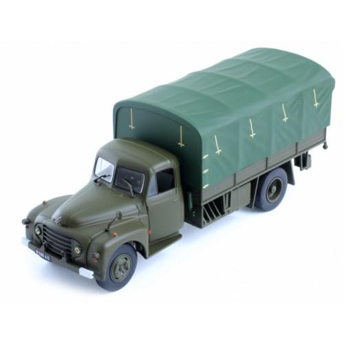 1 43 camion militaire miniature de collection citroen type 55 militaire ixo modelsixospt001. Black Bedroom Furniture Sets. Home Design Ideas