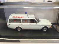 1/43 VOLVO 145 EXPRESS - DUTCH AMBULANCE - 1969-EDITION LIMITEE-IXO PREMIUM-XPRD319
