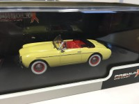 1/43 VOLVO P1900 SPORT CONVERTIBLE - LIGHT YELLOW - 1955-EDITION LIMITEE-IXO PREMIUM-X
