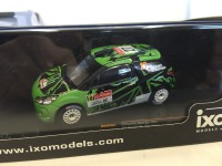 1/43 CITROEN DS3 R3 #27 G.HUNT-S.MARSHALL RALLY PORTUGAL IRC 2011-IXOMODELS