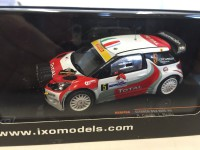 1/43 CITROEN DS3 WRC #5 R.CAPELLO-L.PIROLLO 3RD MONZA RALLY 2011 (WITH NIGHT LIGHTS)-IXOMODELS