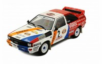 1/18 VOITURE MINIATURE DE COLLECTION Audi Quattro rallye #2 Hunsrück rally-1984-IXOMODELSIXO18RMC010