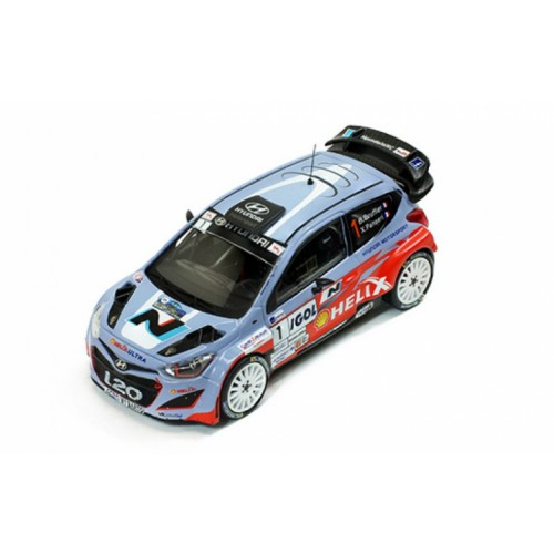 1 43 voiture miniature hyundai i20 1 rallye antibes 2014. Black Bedroom Furniture Sets. Home Design Ideas