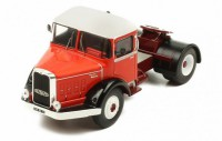 1/43 CAMION MINIATURE DE COLLECTION TRACTEUR  Bernard 150 MB rouge / blanc-1951-IXOMODELSIXOTR028