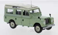 1/43 LAND ROVER VÉHICULES MINIATURE DE COLLECTION Land Rover Séries II109 vert-1958-IXOMODELSIXOCLC329N