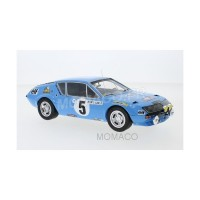 1/18 RENAULT ALPINE A310 5 THERIER/VIAL RALLYE MONTE CARLO 1975-IXOMODELSIXO18RMC036A
