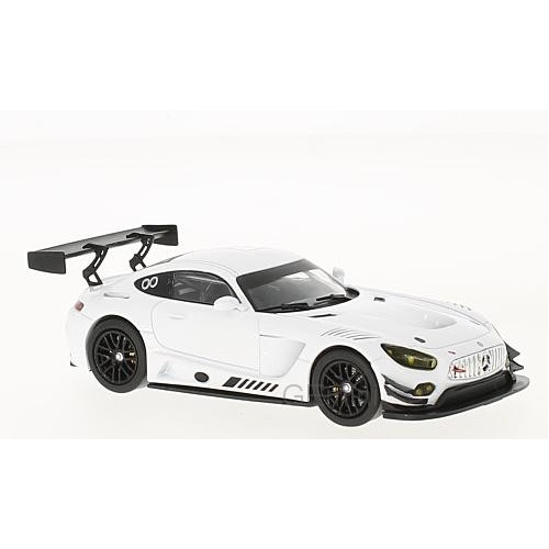 1 43 voiture miniature de collection mercedes amg gt3 blanc version course ixomodelsixogtm121. Black Bedroom Furniture Sets. Home Design Ideas