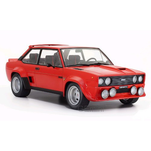 1 18 voiture miniature de collection fiat 131 abarth rouge 1980 ixomodelsixo18cmc003 vente de. Black Bedroom Furniture Sets. Home Design Ideas