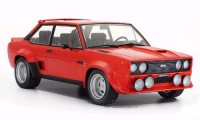 1/18 VOITURE MINIATURE DE COLLECTION Fiat 131 Abarth rouge-1980-IXOMODELSIXO18CMC003